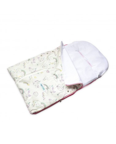 Sleeping Bag Baby - Rosado Unicornio