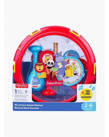 FISHER PRICE - GUITARRA MUSICAL JIRAFA