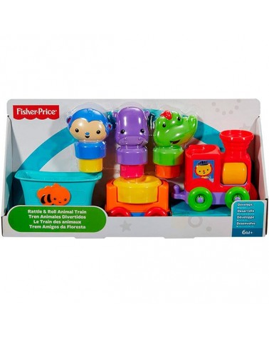 FISHER PRICE - TREN ANIMALES DIVERTIDOS
